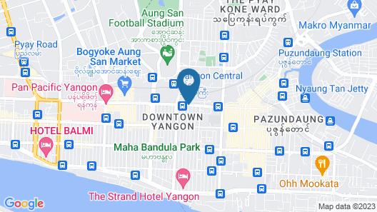 Asia Plaza Hotel Map