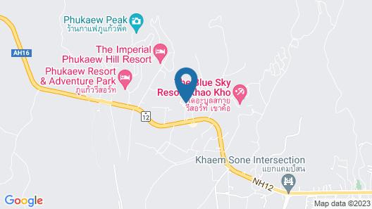 Baan Mai Katoon Map