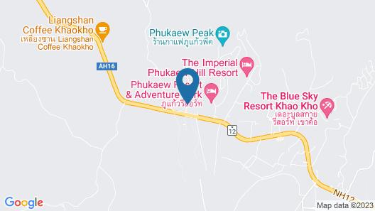 Red Z Cool Mountain Resort Map