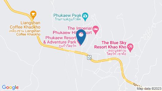 Phukaew Resort & Adventure Park Map