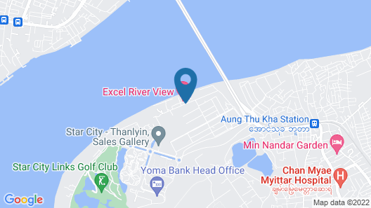Excel River View Hotel Map