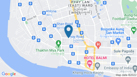 Panda Hotel Map