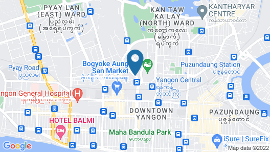 PARKROYAL Yangon Map