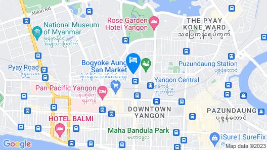 PARKROYAL Yangon Map