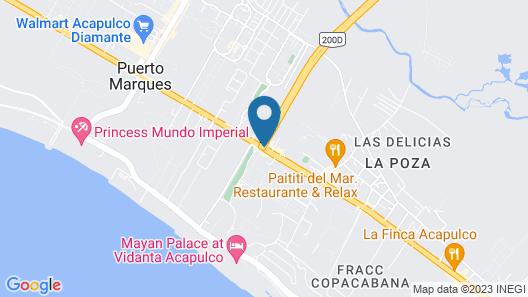 Villa kc 3 Pueblo La Zanja O La Poza Map