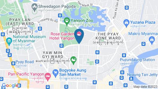 Rose Garden Hotel Map