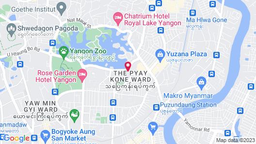 Wyndham Grand Yangon Hotel Map