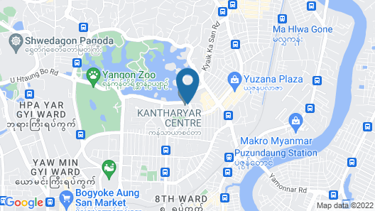 Wyndham Grand Yangon Hotel Map