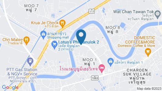 Phitsanulok United Map
