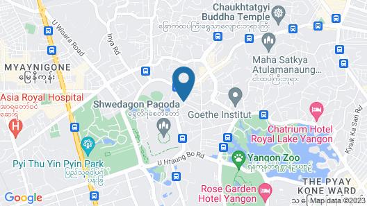 Merchant Art Boutique Hotel Map