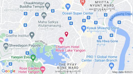 Fame Hotel Yangon Map