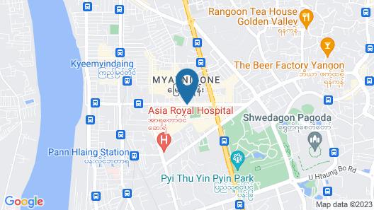 Hotel Vista Map