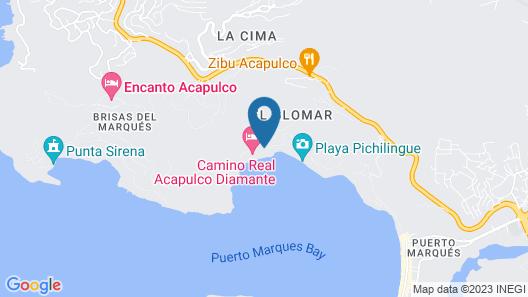 B Pichilingue Acapulco Map