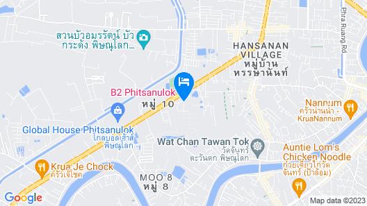 B2 Phitsanulok Boutique & Budget Hotel Map