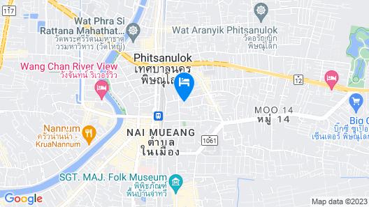 Ayara Grand Palace Hotel Map