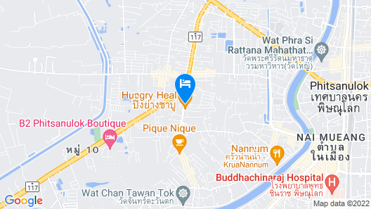 Hansanan Hotel Map