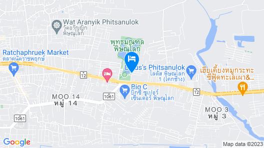 Sivathep Hotel Map