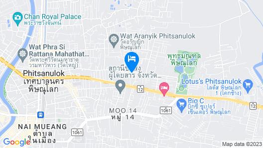 Salathai Hotel Map