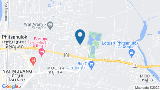 The Imperial Hotel and Convention Centre Phitsanulok  Map