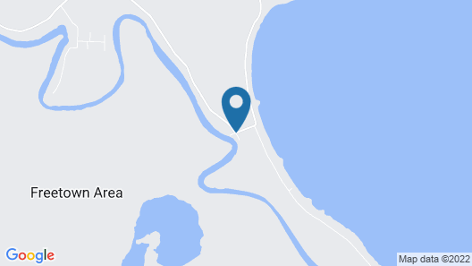 River House Lodge Map