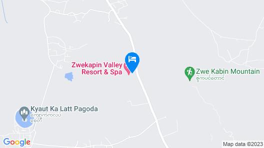 Zwekapin Valley Resort & Spa Map