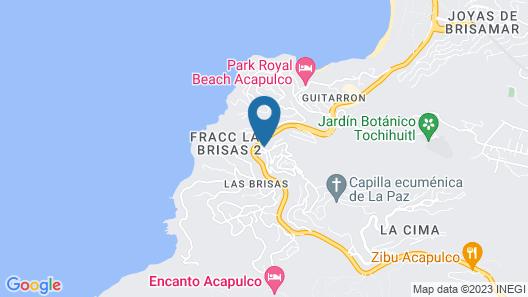 Las Brisas Acapulco Map