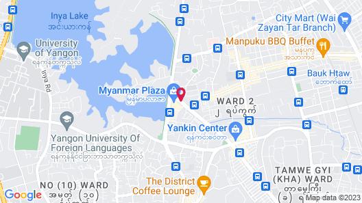 Sedona Hotel Yangon Map