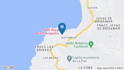 Park Royal Beach Acapulco - All Inclusive Map