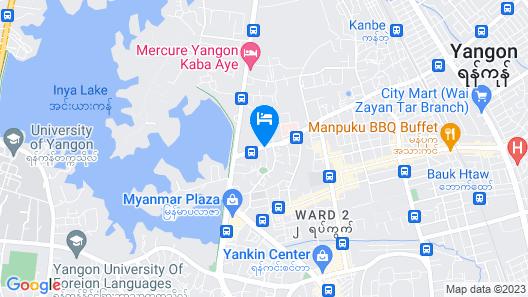 KOO Hotel Map