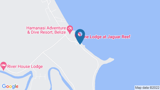Almond Beach Resort at Jaguar Reef Map