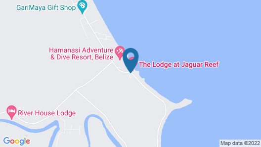 The Lodge at Jaguar Reef Map