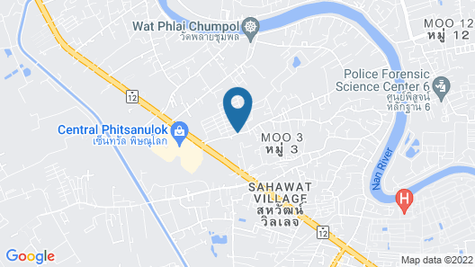 Aziss Boutique Hotel Map