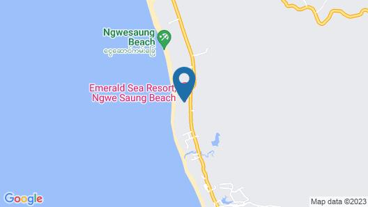 The Emerald Sea Resort Map