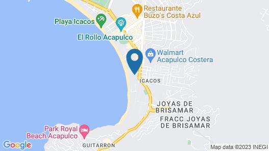 Grand Hotel Acapulco & Convention Center Map