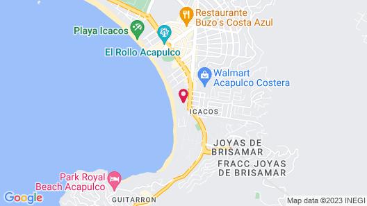 Dreams Acapulco Resorts & Spa Map