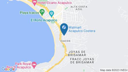 Hotel Nilo Map