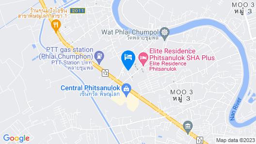 Luxury Place Phitsanulok Map