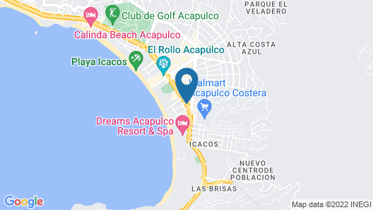 One Acapulco Costera Map