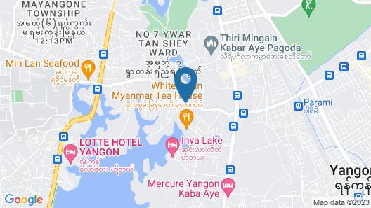 Hotel Parami Map