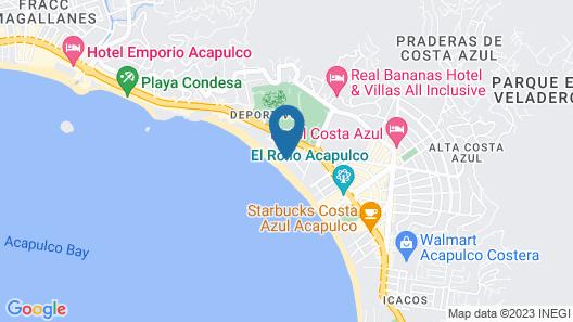Gamma Acapulco Copacabana Map