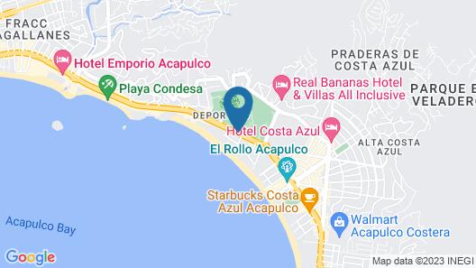 Acapulco Park Hotel Map