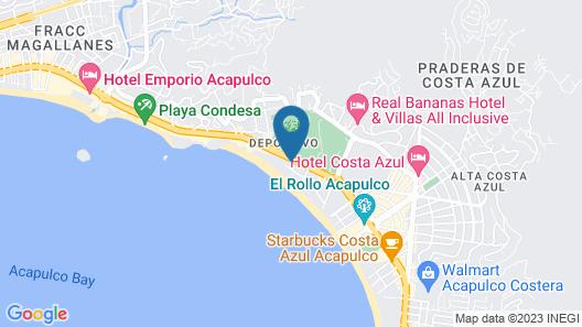 Hotel Elcano Map