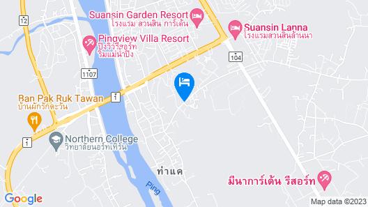 Baan Rai Chern Ma Resort Map