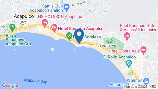 Fiesta Americana  Acapulco Villas Map