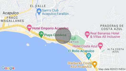 tu lugar en Acapulco al mejor precio Map