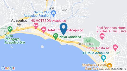 Capital O Pacific Paradise Map