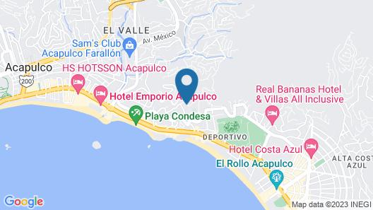 Hotel Yamba Map