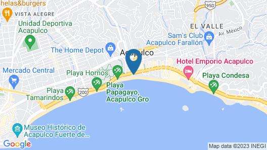 Hotel Costa Miramar Map