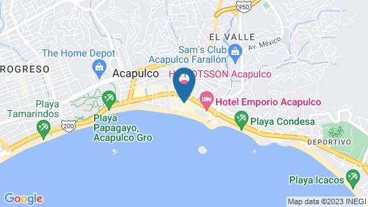 HS HOTSSON Smart Acapulco Map