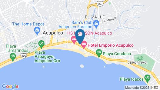 Hotel Hacienda Maria Eugenia Map